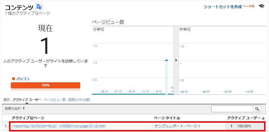 Googleデータポータルの閲覧状況をGoogleアナリティクスで計測する方法の画面キャプチャ3